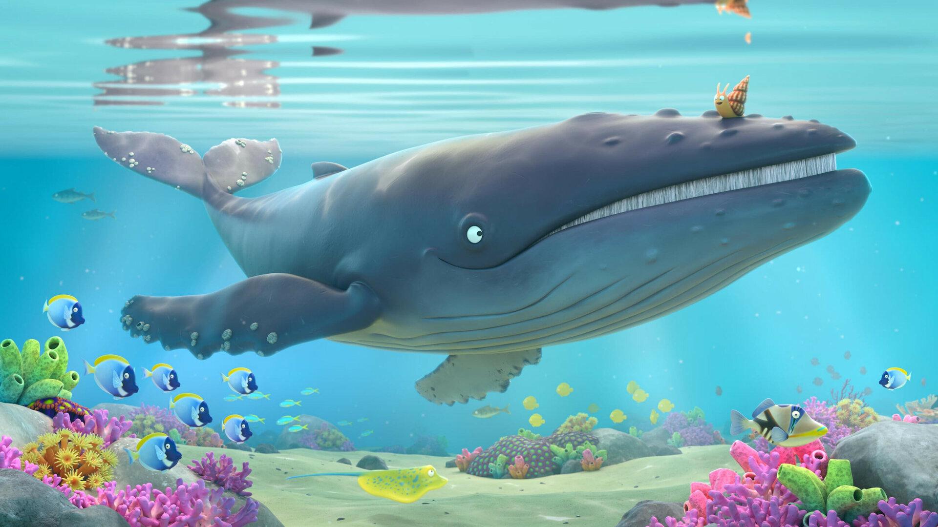 El viaje de Bu y El caracol y la ballena