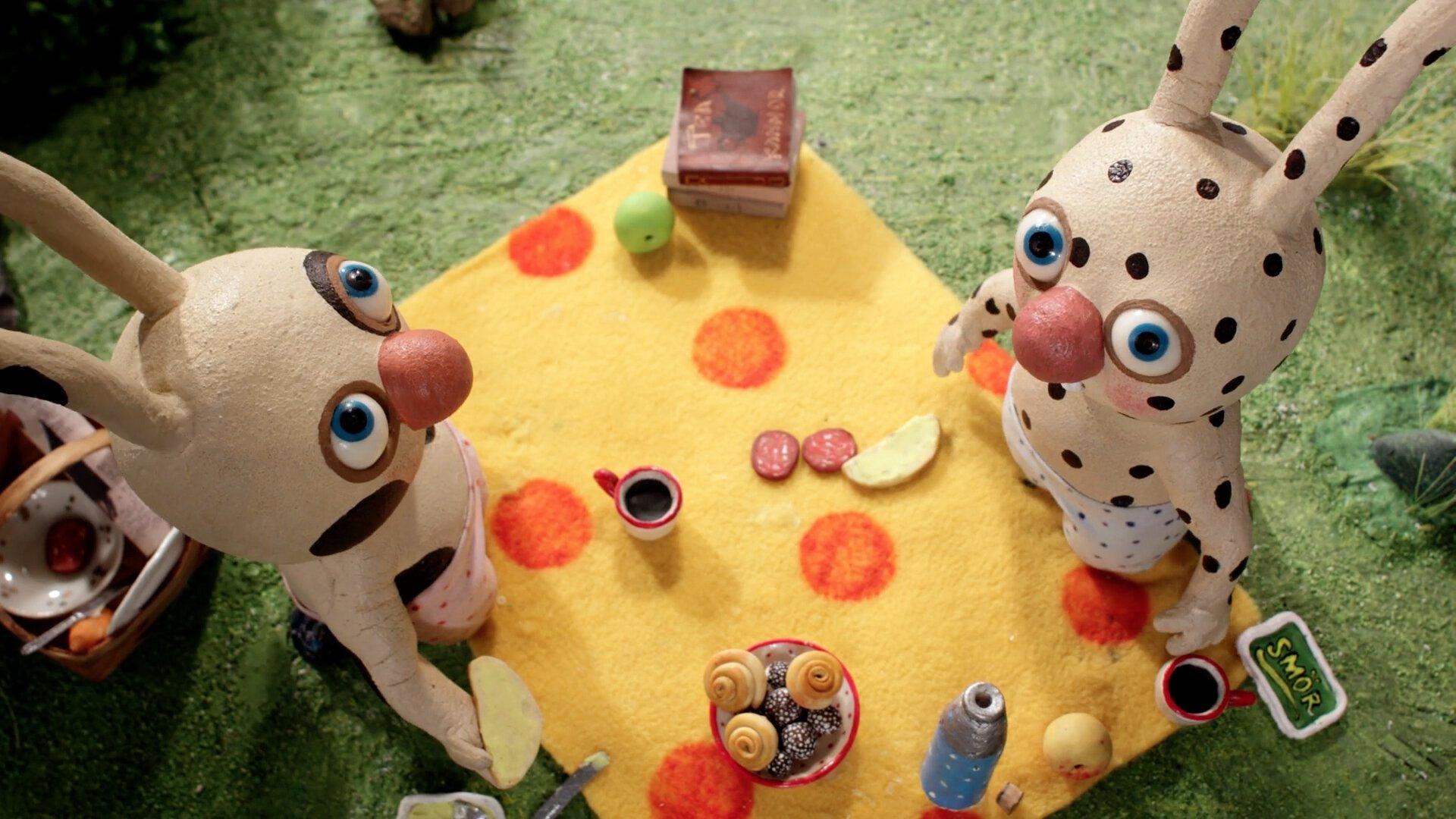 Topitos y Manchitas van de picnic