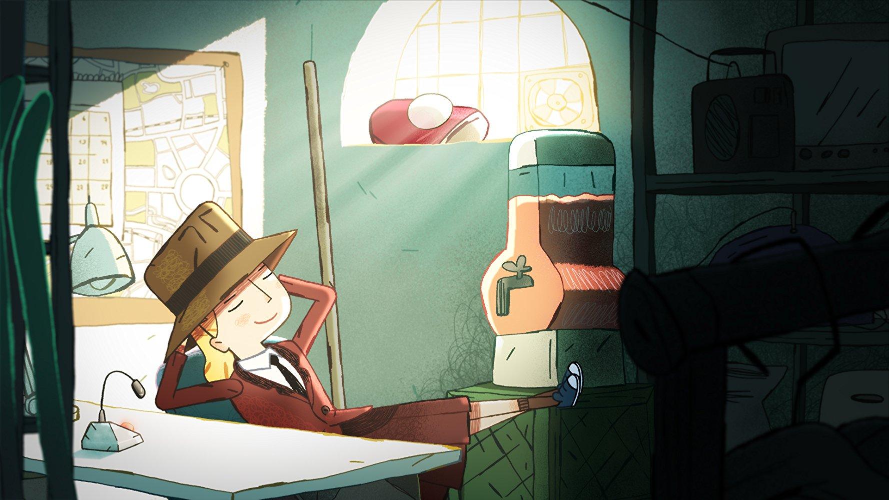 Literatura y animación con Karla von Bengtsson