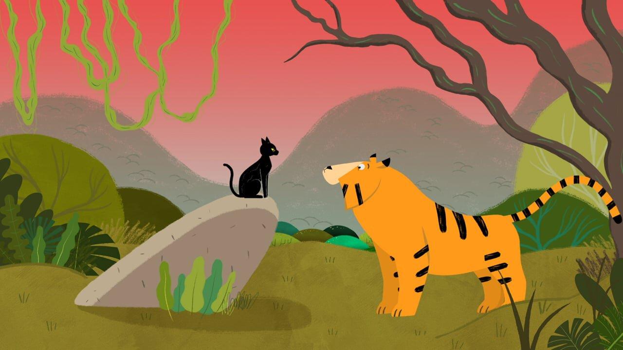 El tigre y su maestro